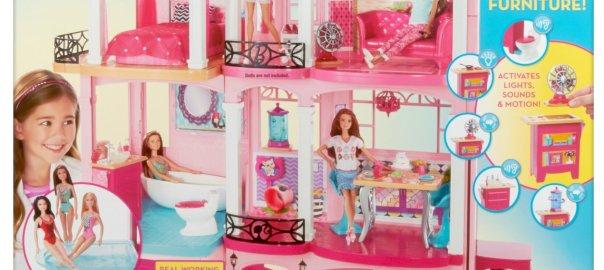 Barbie Dreamhouse Amazon Certified Packaging