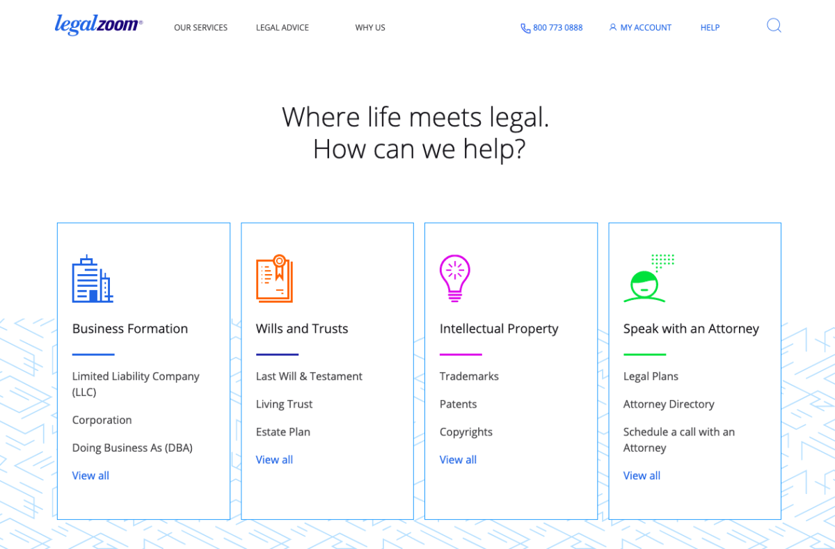 LegalZoom Services