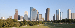 Houston skyline day