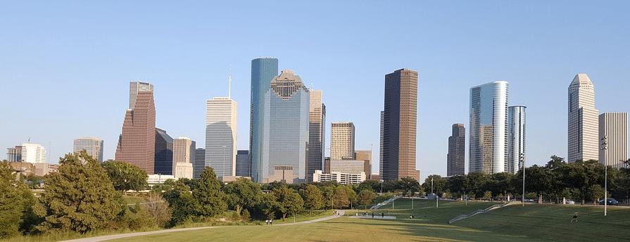 Houston skyline day
