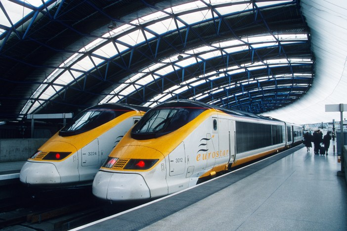 Eurostar, UK, Belgium and France