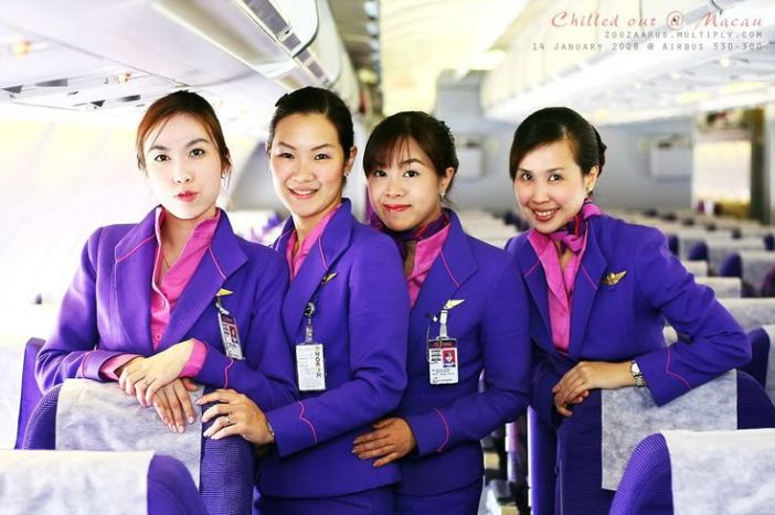 Thai Airways International Stewardesses