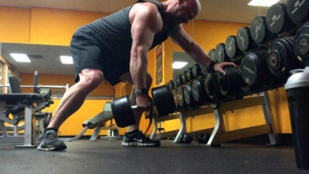 dumbbell rows exercises that boost testosterone
