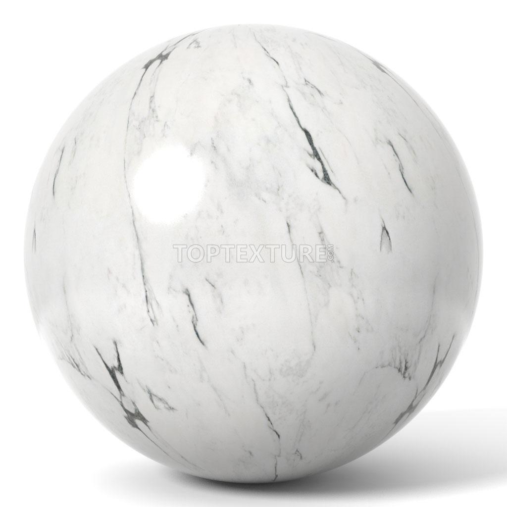 White Marble Black Streaks  Top Texture