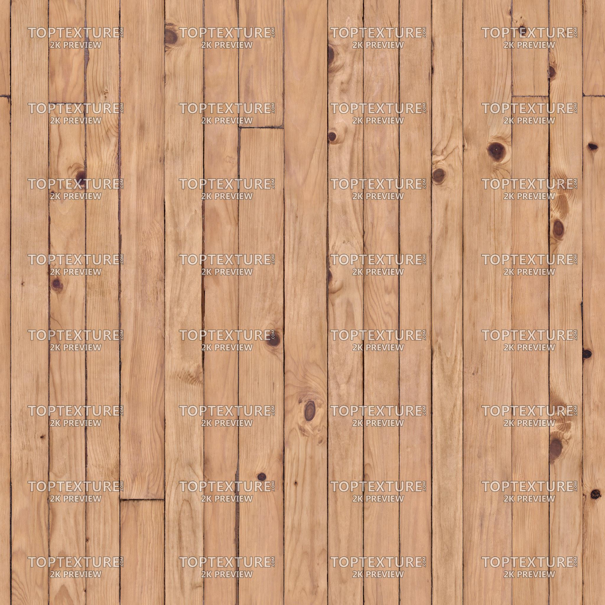 Clean Old Pine Wood Flooring  Top Texture