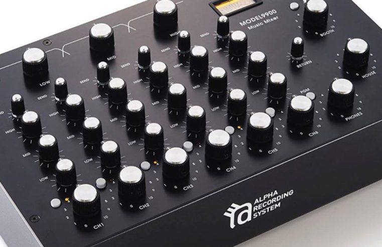 Alpha Recording System unveils handmade six-channel rotary mixer