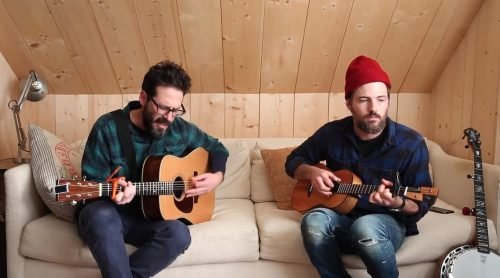 "Watch: Clem Snide & Scott Avett – ""Easy"" – Live From Just Beyond"