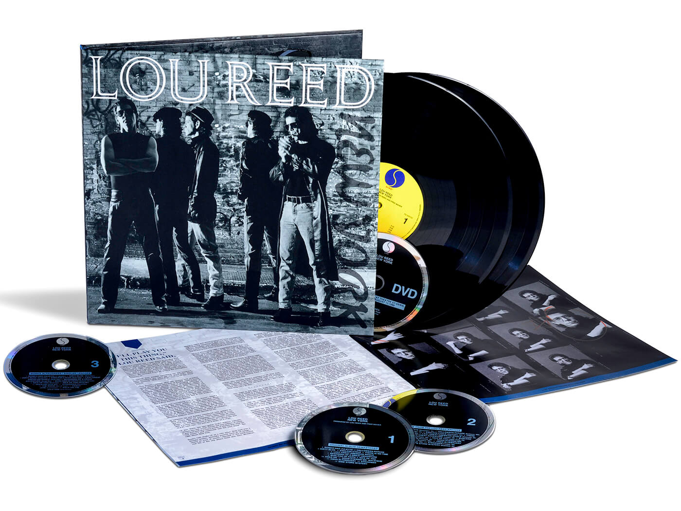 Lou Reed's New York gets the Deluxe Edition treatment
