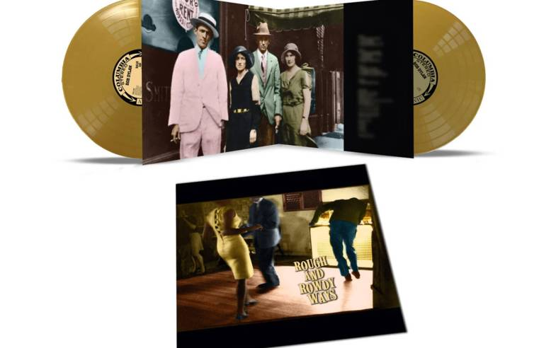 Win a limited gold vinyl edition of Bob Dylan's Rough And Rowdy Ways