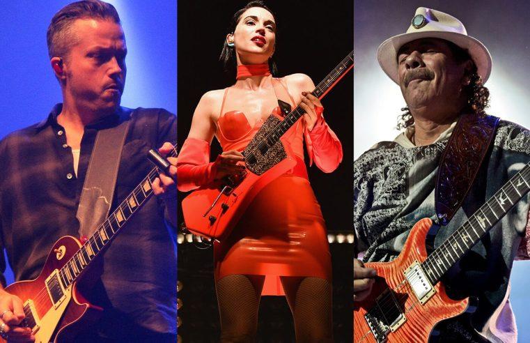 Jason Isbell, St Vincent and Carlos Santana for virtual guitar show