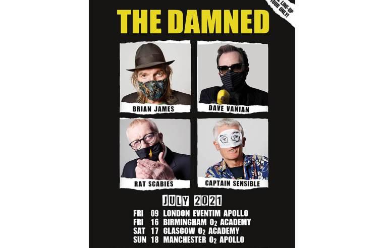 The Damned's original line-up reform