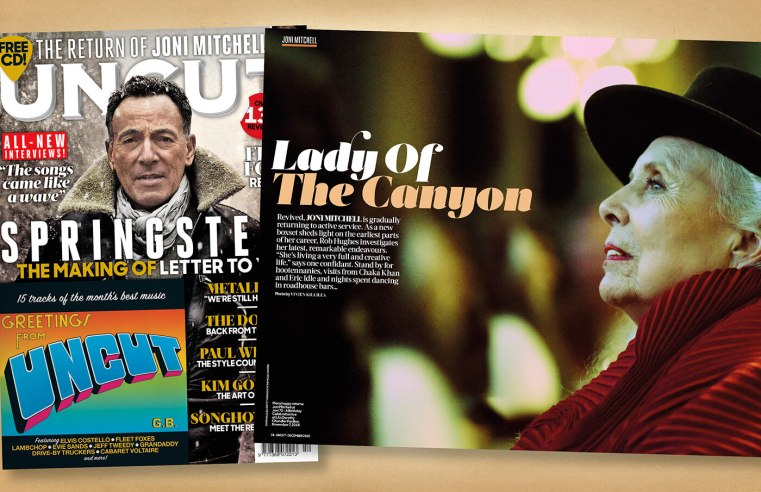 """The return of Joni Mitchell: """"She sounds great, clear and light-hearted."""""""