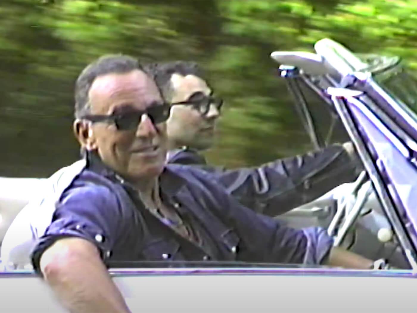 "Watch Bruce Springsteen guest on Bleachers' ""Chinatown"""