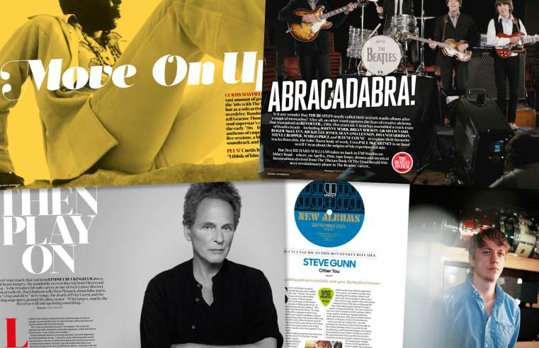 Welcome to the new Uncut: The Beatles, Lindsey Buckingham, Curtis Mayfield and more