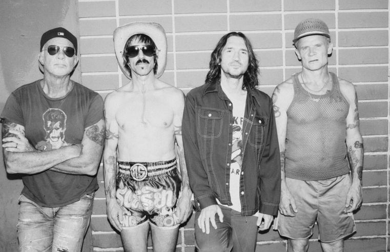 """Red Hot Chili Peppers nearly done with new album: """"It's different and new"""""""