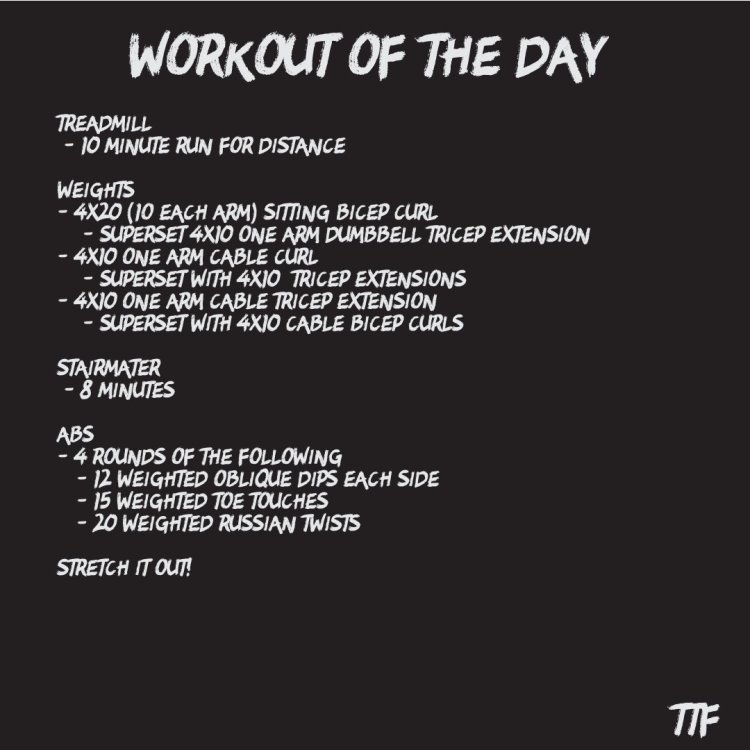 Explosive Bicep and Tricep Workout