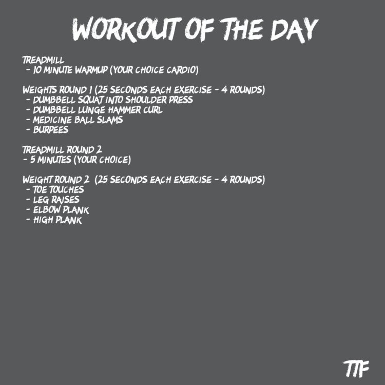 HIIT Full body circuit