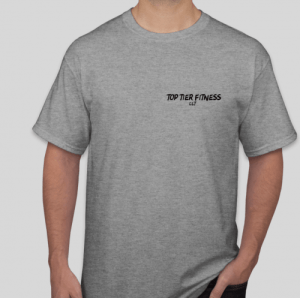 Top tier fitness clt t-shirt