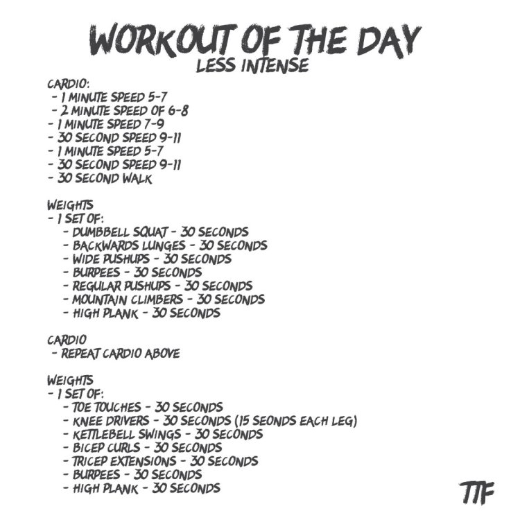 45 minute HIIT full body workout