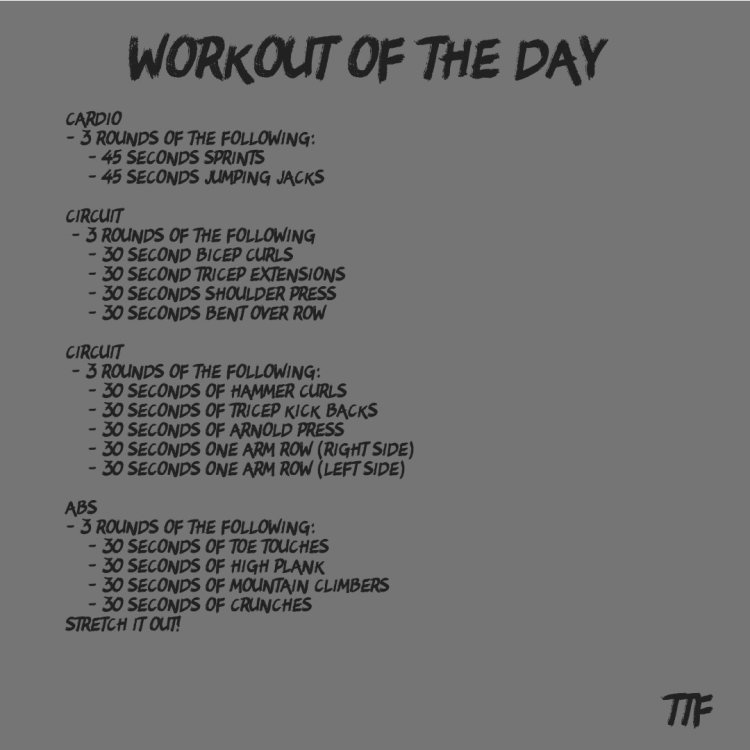 40 Minute HIIT Back and Arms Workout from Home