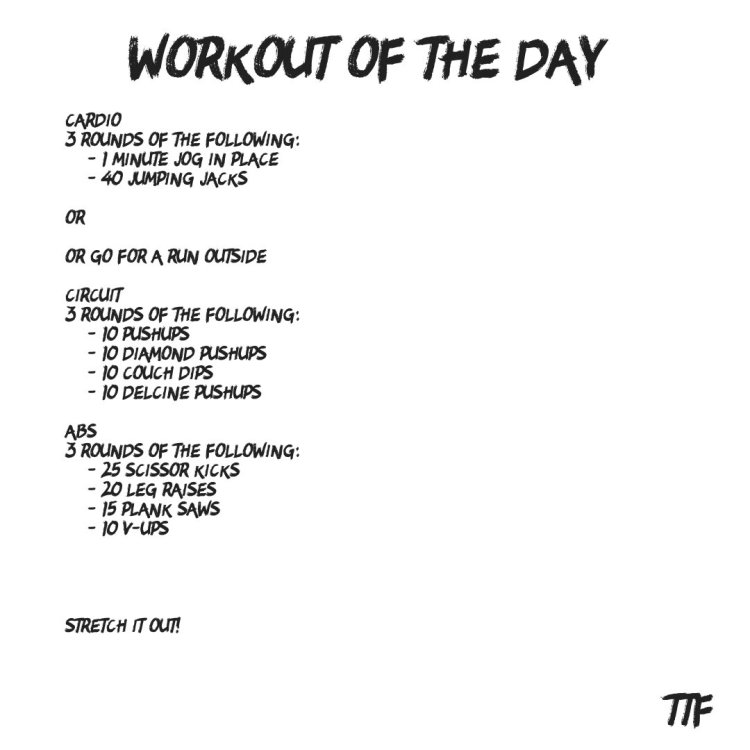 No Equipment Needed Chest Workout