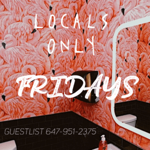 Locals Only Friday