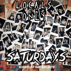 Locals Only Saturday