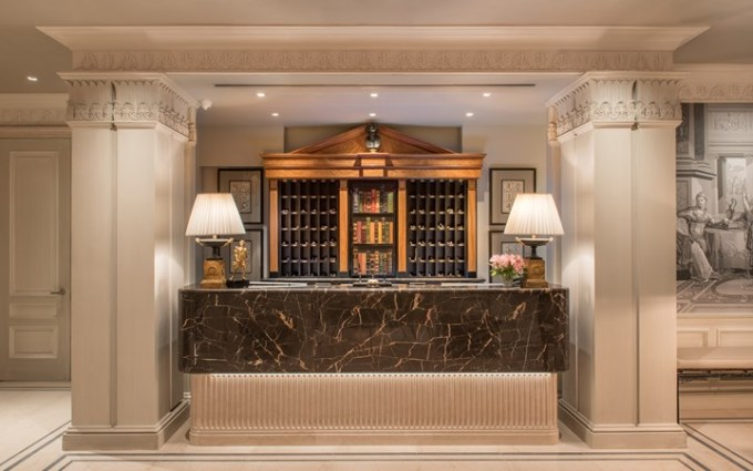 Reception Desk, The Lowell, New York Hotels in US