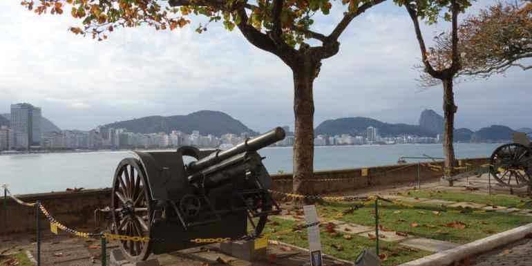 Forte Copacabana, Rio de Janeiro, Brazil