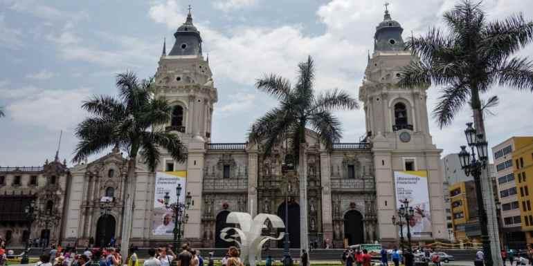 Plaza de Armas, Lima, Peru