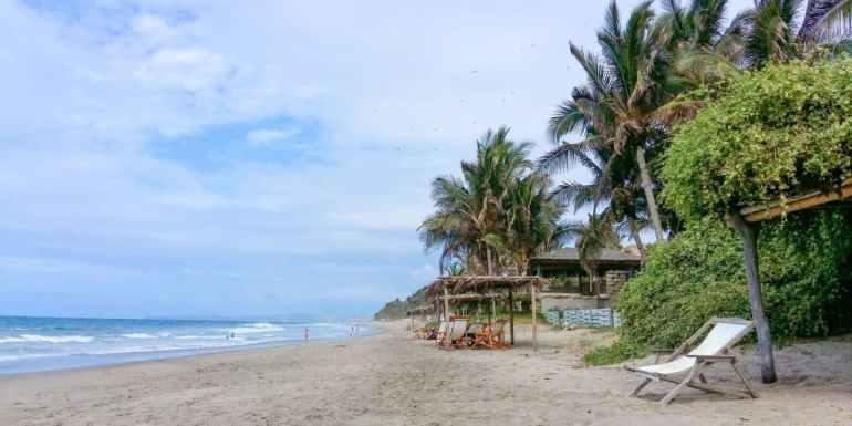 Beach in Mancora, Peru