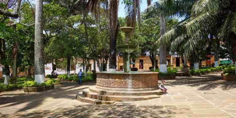 Main Square in San Gil