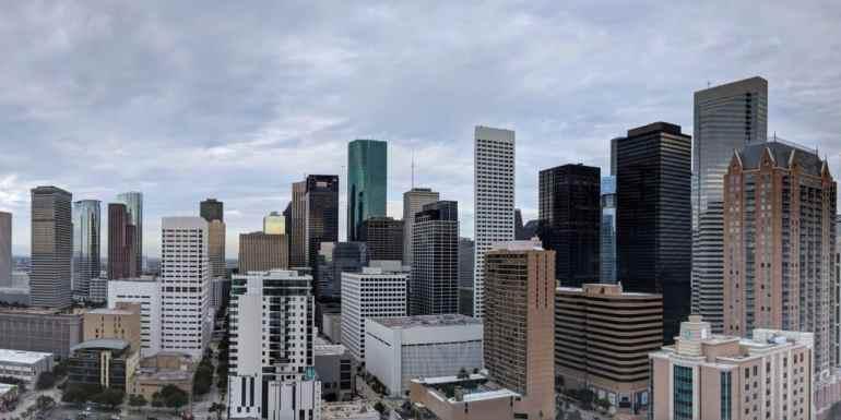 Skyscrapers in Houston, Texas