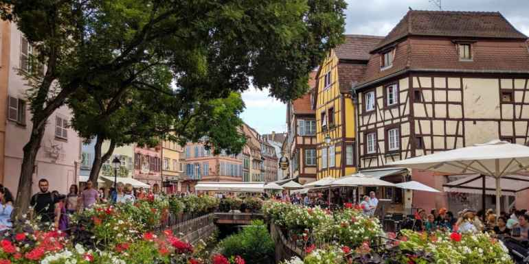 Traditional houses in Colmar, France