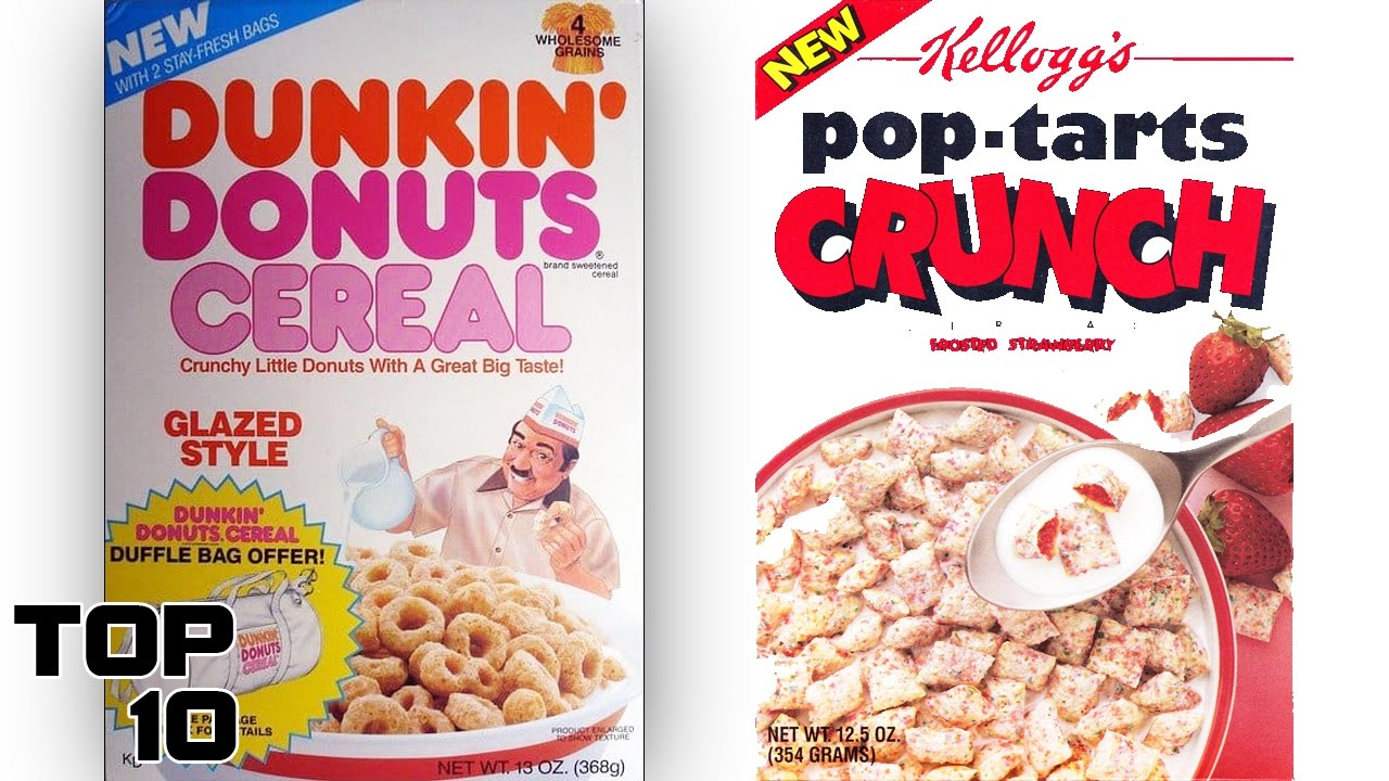 Top 10 Discontinued Cereals We All Miss – Part 2 | Top ...