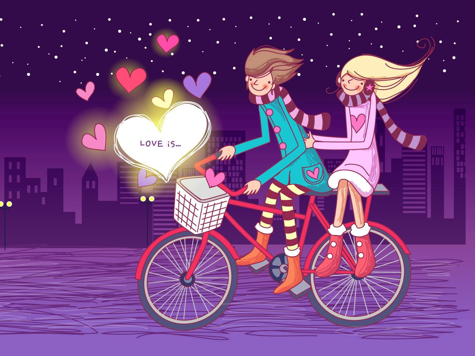 romantic couples anime wallpapers