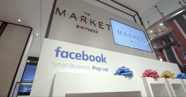 0e2eabddadb Facebook created a small business pop-up at The Market in Macy's stores.