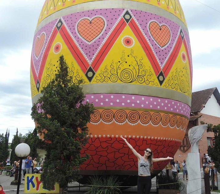 Você sabe qual é o maior Ovo de Páscoa do mundo?