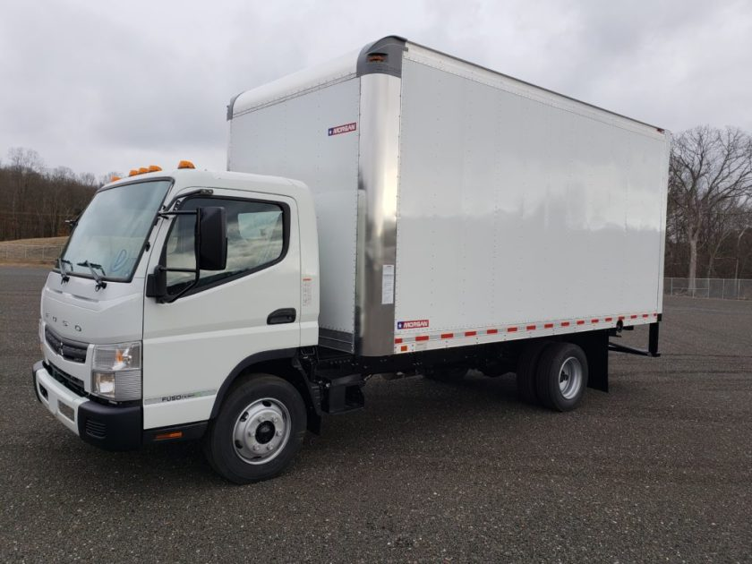 2019 Mitsubishi-Fuso FE160 GAS with 16 Morgan Body