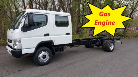 2019 Mitsubishi-Fuso FE160 GAS Engine Crew Cab & Chassis. Available for sale at Top Truck Center 222 Prospect St. East Hartford, CT 06108. Call now - 860.289.5234