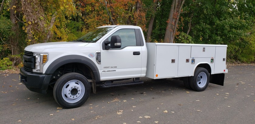 2019 Ford F450 with Reading Utility Body