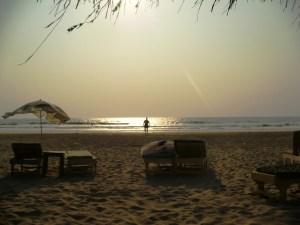 Пляж Ашвем на закате