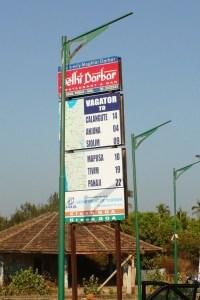 Расстояния от Вагатора