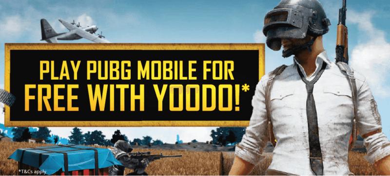 Data PUBG Mobile Percuma Dari Yoodo