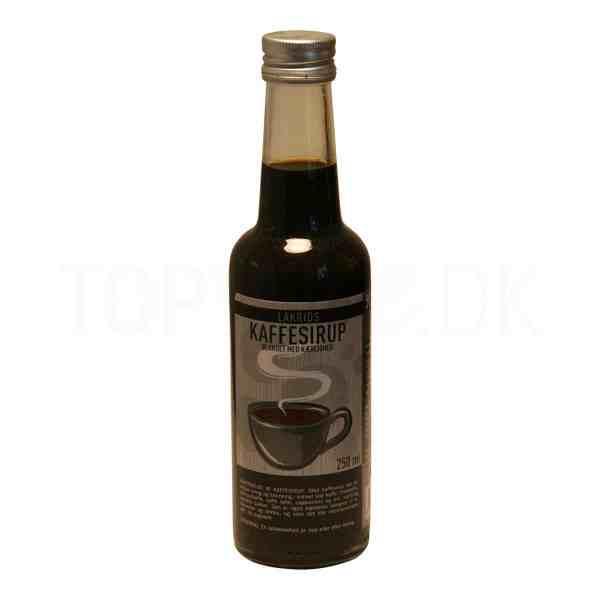 Topvine kaffesirup med lakrids