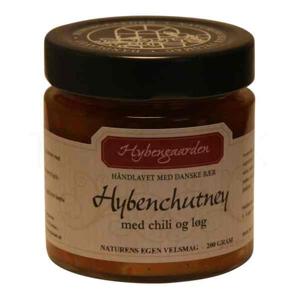 Topvine Hybengaarden Hybenchutney med chili og loeg