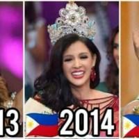 Estas son todas las latinas que se han coronado como Miss Earth