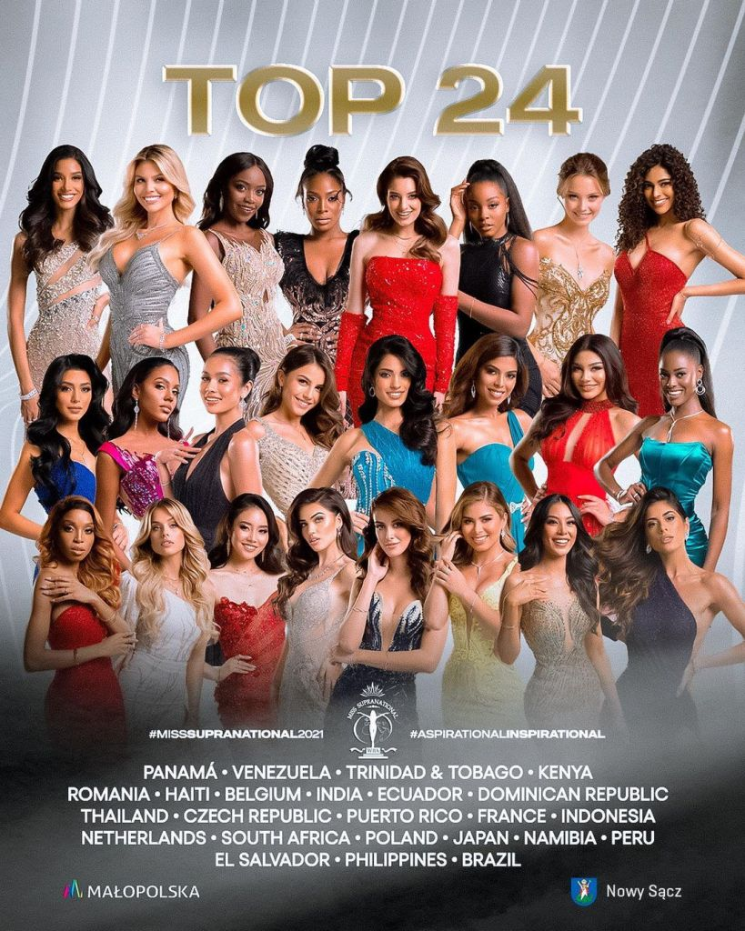 Miss supranational 2021 top 24.