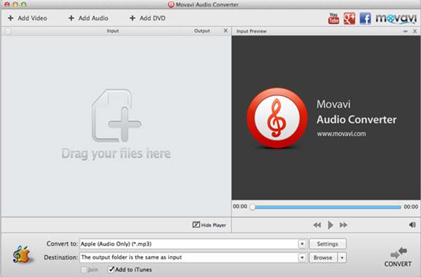Movavi Audio Converter