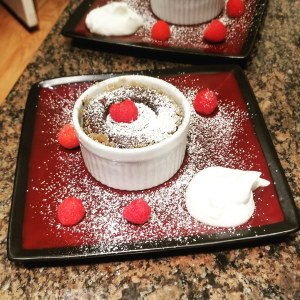 Molten Lava Cake for Kids Cooking Lesson with Top Water Cooking